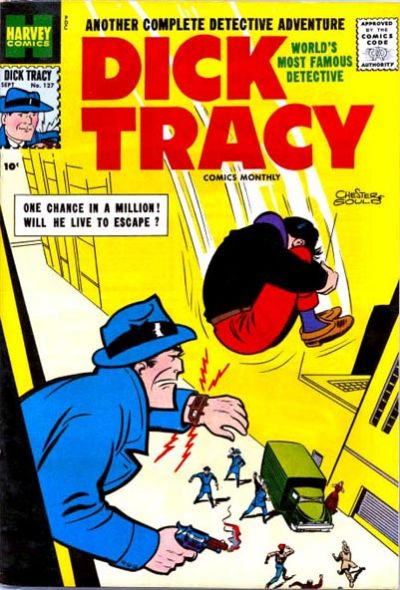 Cover for Dick Tracy (Harvey, 1950 series) #127
