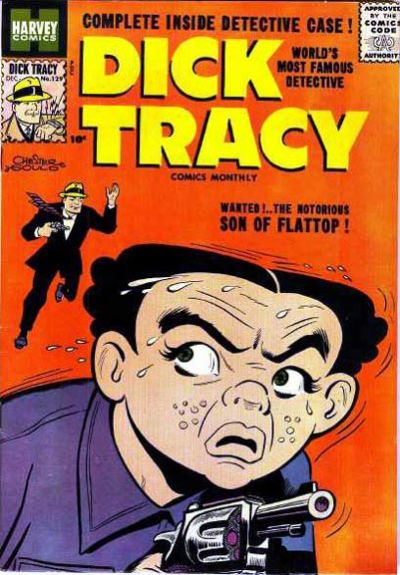 Cover for Dick Tracy (Harvey, 1950 series) #129