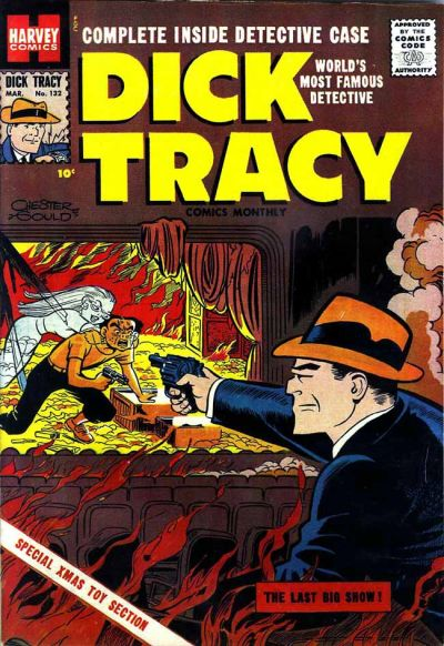 Cover for Dick Tracy (Harvey, 1950 series) #132