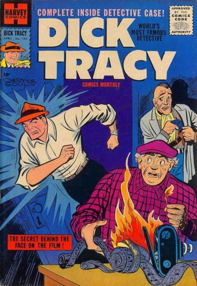 Cover for Dick Tracy (Harvey, 1950 series) #133