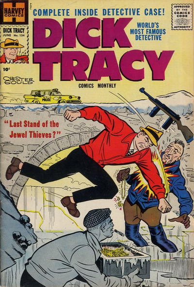 Cover for Dick Tracy (Harvey, 1950 series) #134