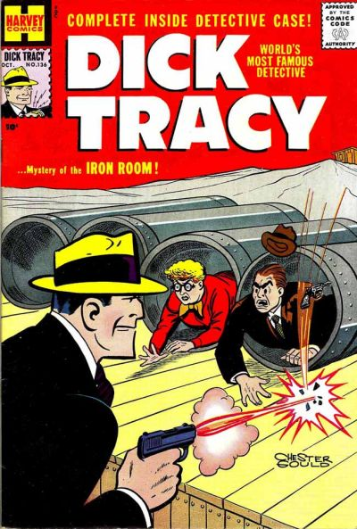 Cover for Dick Tracy (Harvey, 1950 series) #136
