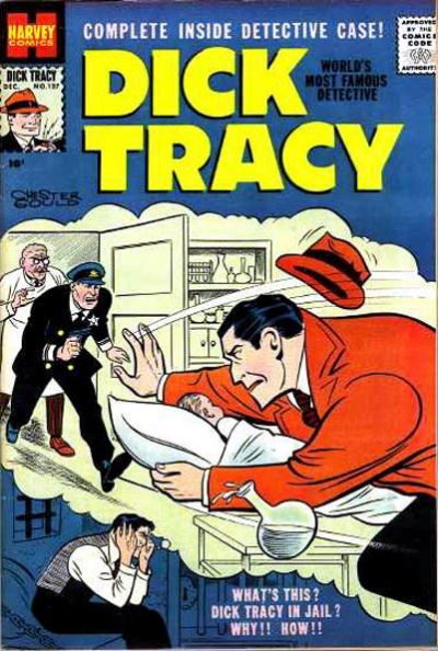 Cover for Dick Tracy (Harvey, 1950 series) #137