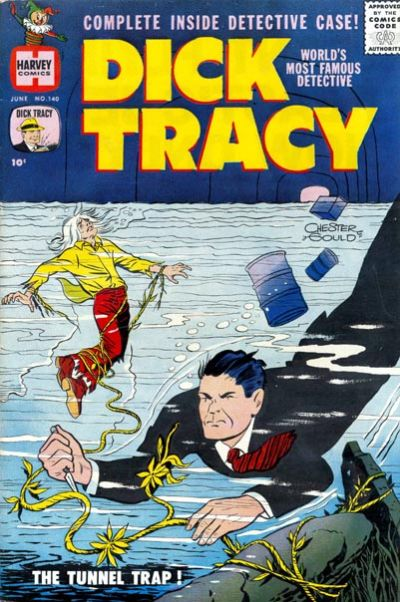Cover for Dick Tracy (Harvey, 1950 series) #140