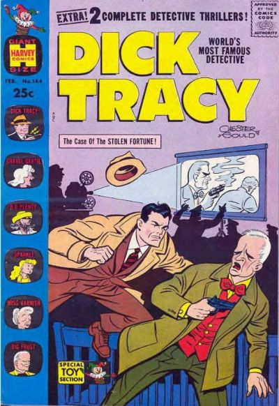 Cover for Dick Tracy (Harvey, 1950 series) #144