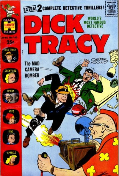 Cover for Dick Tracy (Harvey, 1950 series) #145