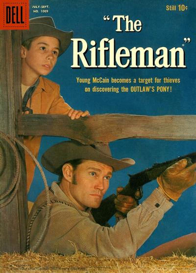 Cover for Four Color (Dell, 1942 series) #1009 - The Rifleman