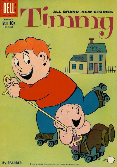 Cover for Four Color (Dell, 1942 series) #1022 - Timmy