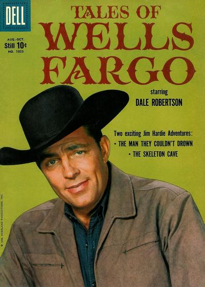 Cover for Four Color (Dell, 1942 series) #1023 - Tales of Wells Fargo