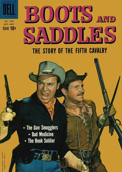 Cover for Four Color (Dell, 1942 series) #1029 - Boots and Saddles