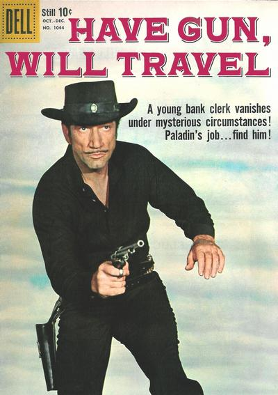 Cover for Four Color (Dell, 1942 series) #1044 - Have Gun, Will Travel
