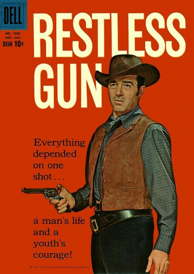 Cover for Four Color (Dell, 1942 series) #1045 - Restless Gun