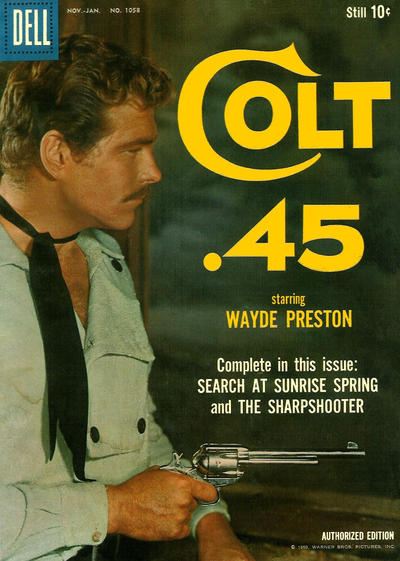 Cover for Four Color (Dell, 1942 series) #1058 - Colt .45
