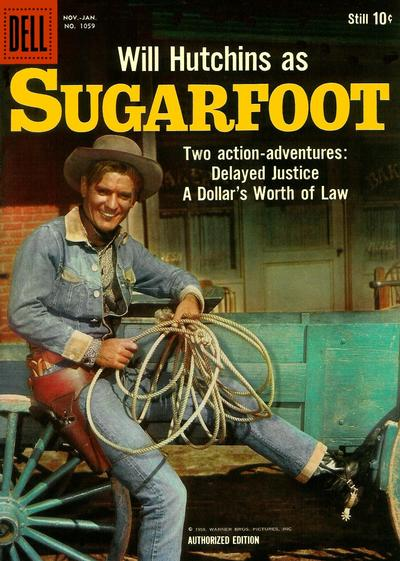 Cover for Four Color (Dell, 1942 series) #1059 - Sugarfoot