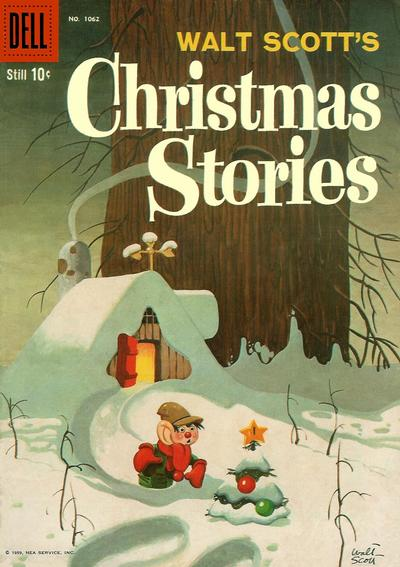 Cover for Four Color (Dell, 1942 series) #1062 - Walt Scott's Christmas Stories