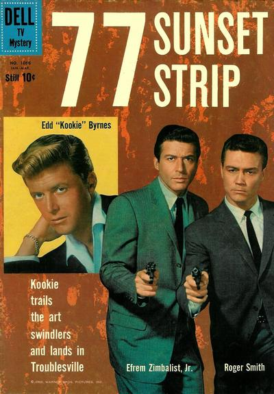 Cover for Four Color (Dell, 1942 series) #1066 - 77 Sunset Strip