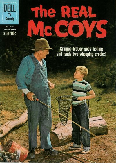 Cover for Four Color (Dell, 1942 series) #1071 - The Real McCoys