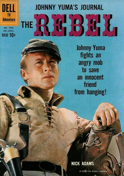 Cover for Four Color (Dell, 1942 series) #1076 - The Rebel