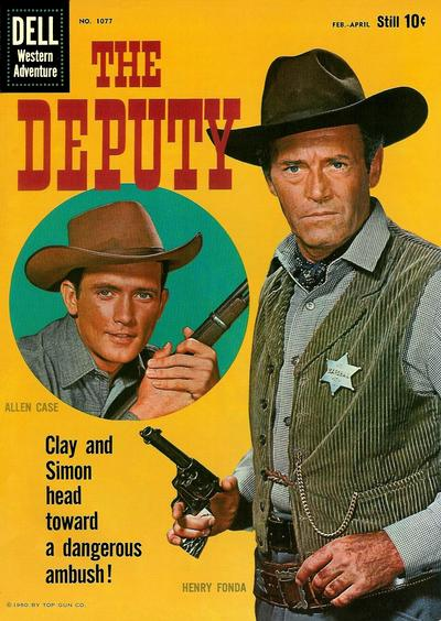 Cover for Four Color (Dell, 1942 series) #1077 - The Deputy