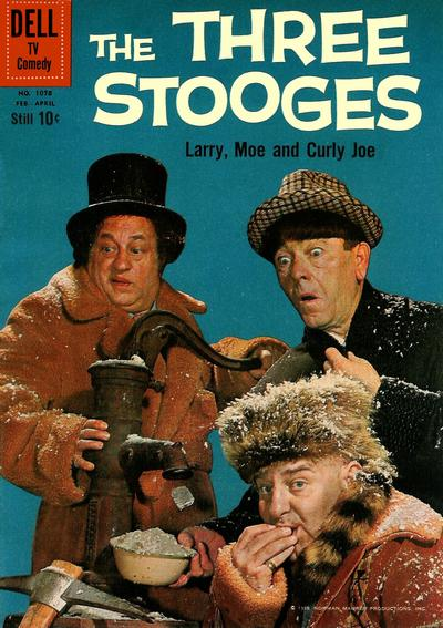 Cover for Four Color (Dell, 1942 series) #1078 - The Three Stooges