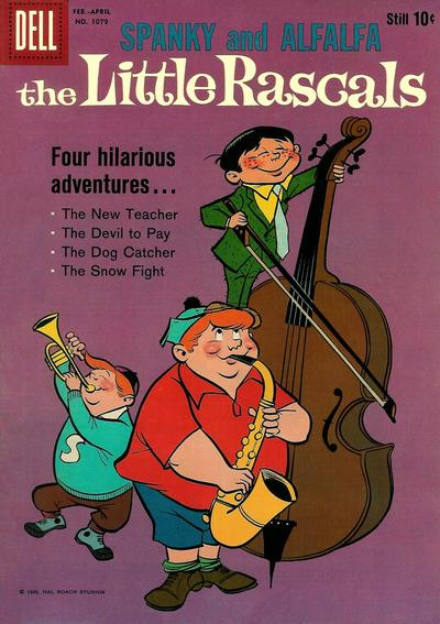 Cover for Four Color (Dell, 1942 series) #1079 - The Little Rascals