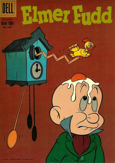 Cover for Four Color (Dell, 1942 series) #1081 - Elmer Fudd