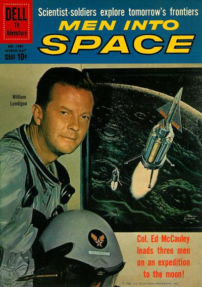 Cover for Four Color (Dell, 1942 series) #1083 - Men Into Space