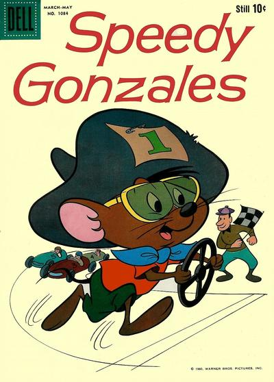 Cover for Four Color (Dell, 1942 series) #1084 - Speedy Gonzales