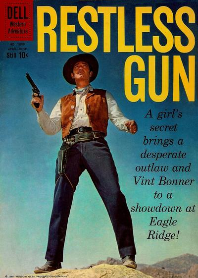Cover for Four Color (Dell, 1942 series) #1089 - Restless Gun