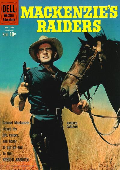 Cover for Four Color (Dell, 1942 series) #1093 - Mackenzie's Raiders