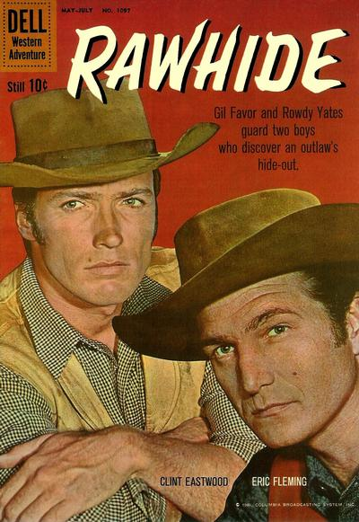 Cover for Four Color (Dell, 1942 series) #1097 - Rawhide