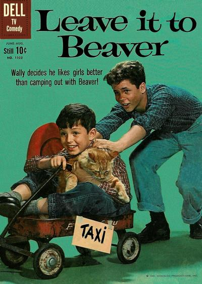 Cover for Four Color (Dell, 1942 series) #1103 - Leave It to Beaver