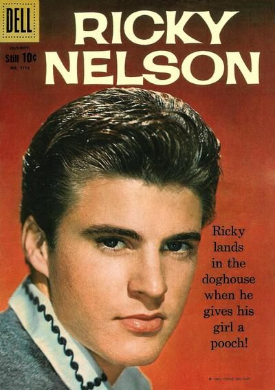 Cover for Four Color (Dell, 1942 series) #1115 - Ricky Nelson [British]