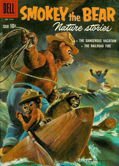 Cover for Four Color (Dell, 1942 series) #1119 - Smokey the Bear Nature Stories