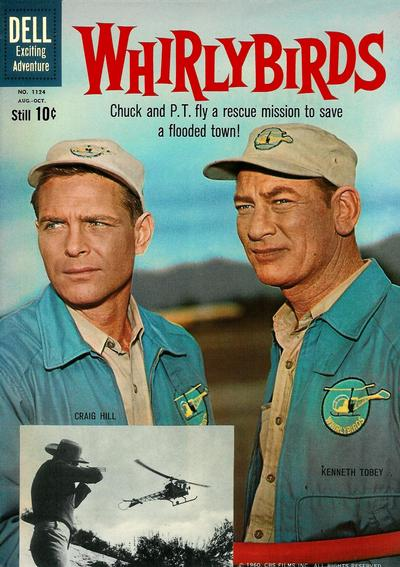 Cover for Four Color (Dell, 1942 series) #1124 - Whirlybirds