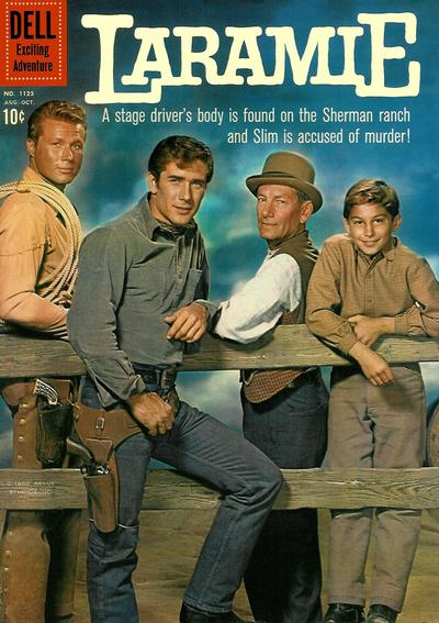 Cover for Four Color (Dell, 1942 series) #1125 - Laramie