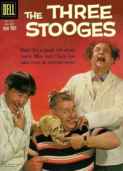 Cover for Four Color (Dell, 1942 series) #1127 - The Three Stooges