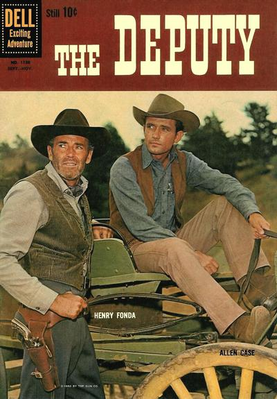 Cover for Four Color (Dell, 1942 series) #1130 - The Deputy