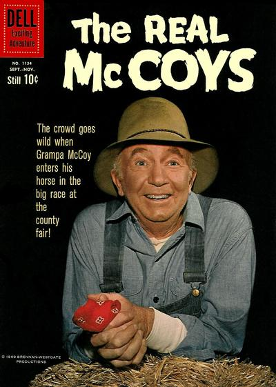 Cover for Four Color (Dell, 1942 series) #1134 - The Real McCoys