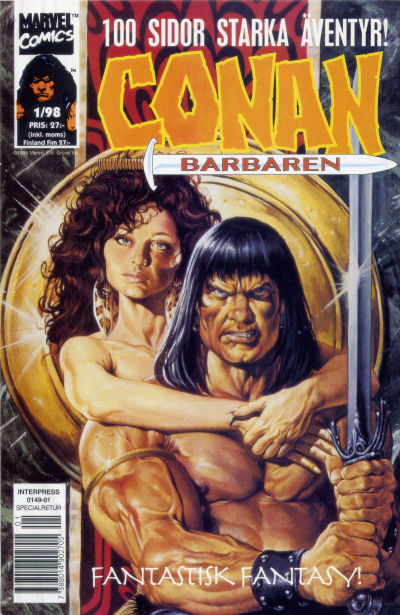 Cover for Conan (Egmont, 1997 series) #1/1998