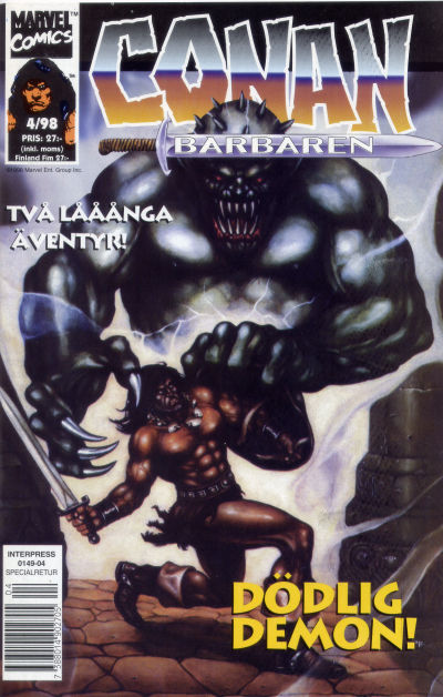 Cover for Conan (Egmont, 1997 series) #4/1998