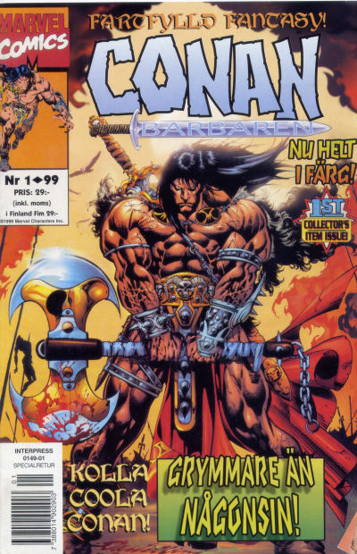 Cover for Conan (Egmont, 1997 series) #1/1999