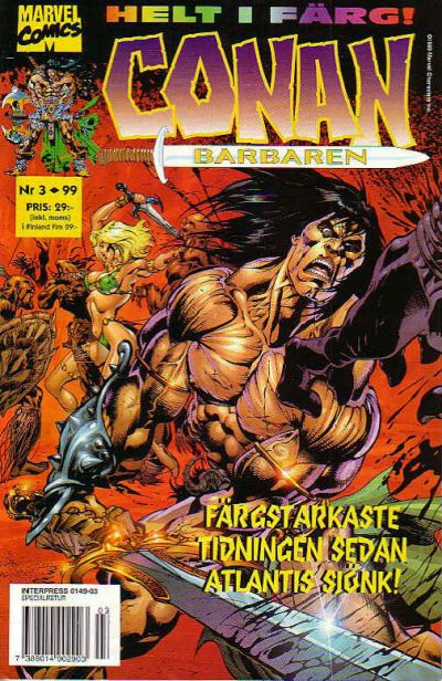 Cover for Conan (Egmont, 1997 series) #3/1999