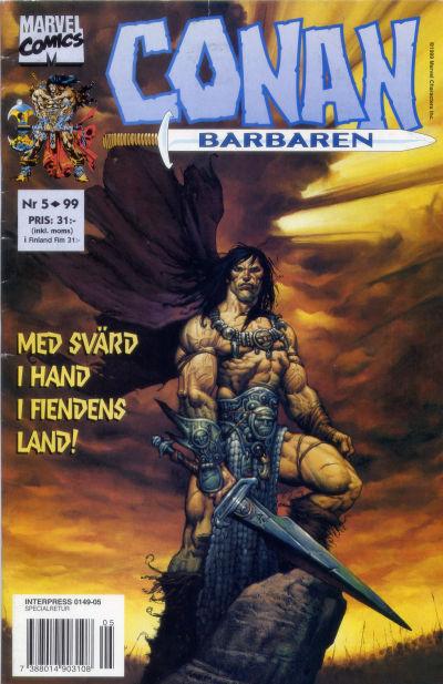 Cover for Conan (Egmont, 1997 series) #5/1999