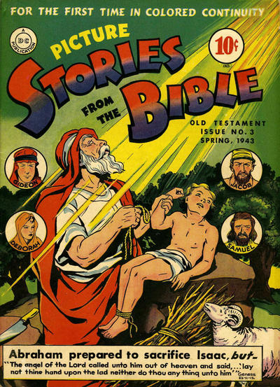 Cover for Picture Stories from the Bible Old Testament (DC, 1942 series) #3