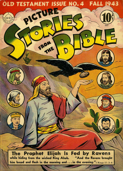 Cover for Picture Stories from the Bible Old Testament (DC, 1942 series) #4