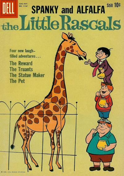 Cover for Four Color (Dell, 1942 series) #1137 - The Little Rascals