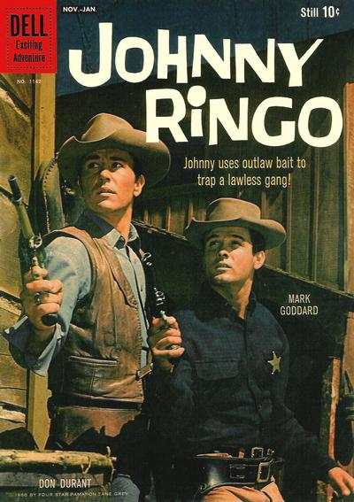 Cover for Four Color (Dell, 1942 series) #1142 - Johnny Ringo