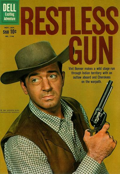 Cover for Four Color (Dell, 1942 series) #1146 - Restless Gun