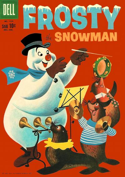 Cover for Four Color (Dell, 1942 series) #1153 - Frosty the Snowman